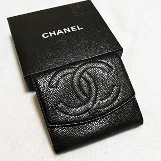 シャネル(CHANEL)のお買い得!美品!シャネル  キャビア  デカココマーク  財布(財布)