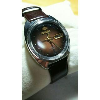 オリエント(ORIENT)のオリエント自動巻き腕時計ヴィンテージ(腕時計(アナログ))