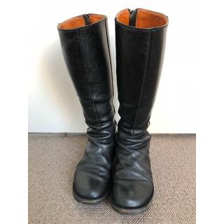 トリッペン(trippen)のロングブーツ (黒)(ブーツ)