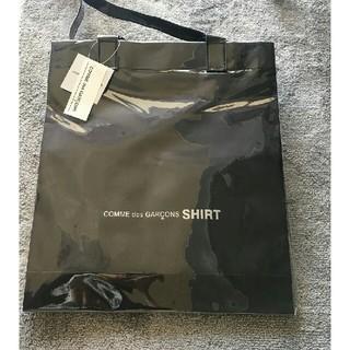 超特別価格!コムデギャルソン シャツ PVCトートバッグ ショルダーバッグ