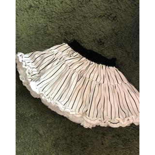 ナルミヤ インターナショナル(NARUMIYA INTERNATIONAL)の美品です♬  JENNI姉妹ブランド BY♡LOVEiT♡スカート(スカート)