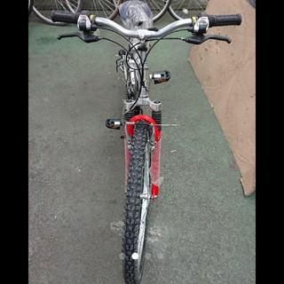 キャプテンスタッグ(CAPTAIN STAG)の折り畳みマウンテンバイク 26インチ(自転車本体)