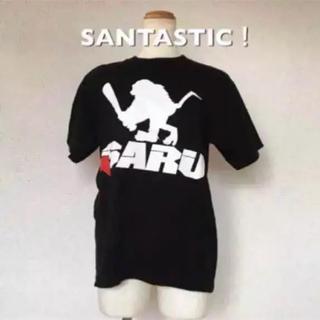 サンタスティック(SANTASTIC!)の【正規品】SANTASTIC! Tシャツ SARU バット メンズS 黒×白(Tシャツ/カットソー(半袖/袖なし))