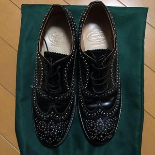 チャーチ(Church's)のChurch's スタッズレースアップシューズ(ローファー/革靴)