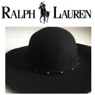 デニムアンドサプライラルフローレン(Denim & Supply Ralph Lauren)のデニム&サプライ ラルフローレン ウール100牛革レザー フェルトハット M58(ハット)