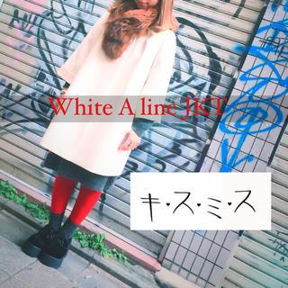 キスミス(Xmiss)の▼ Xmiss White A line JKT ▼(その他)