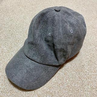 カシータ(casiTA)の[送料込み]カシータ キャップ グレー 帽子(キャップ)