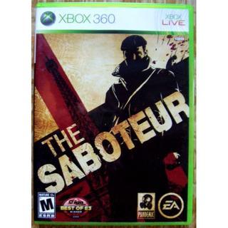 エックスボックス360(Xbox360)のXBOX360 THE SABOTEUR 海外版(家庭用ゲームソフト)