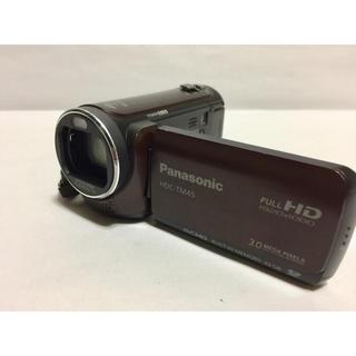 パナソニック(Panasonic)のPanasonic/32GBHDDビデオカメラ/HDC-TM45/フルHD(ビデオカメラ)