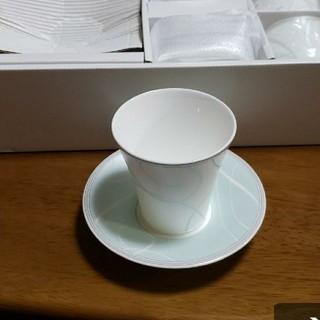 ニッコー(NIKKO)のカップ & ソーサー 5脚セット(グラス/カップ)
