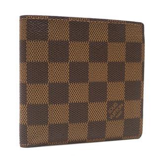ルイヴィトン(LOUIS VUITTON)のA711 ダミエ エベヌ 折財布 N61675 スペイン 100周年エディション(折り財布)