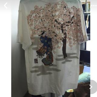 カラクリタマシイ(絡繰魂)の早い者勝ち!ブランド 和柄Tシャツ(シャツ)