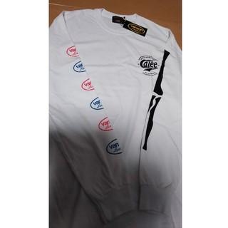 キャリー(CALEE)の新品未使用! calee × vanson Lサイズ!cutrate(Tシャツ/カットソー(七分/長袖))