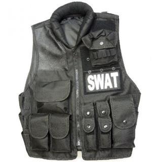 ★即日発送★ SWAT ミルフォース ベスト レプリカ フリーサイズ(戦闘服)