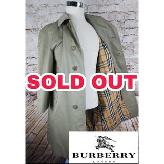 バーバリー(BURBERRY)の⬛️専用ページ⬛️90s Burberry バーバリー ステンカラーコート(ステンカラーコート)