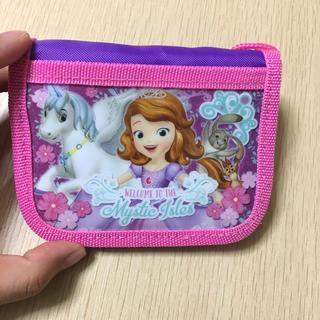 子供用財布(新品)可愛いソフィア(財布)