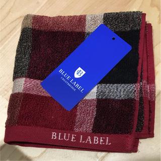 バーバリーブルーレーベル(BURBERRY BLUE LABEL)のハンドタオル ブルーレーベル メンズ(ハンカチ/ポケットチーフ)