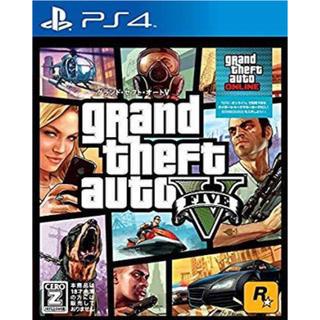 ジーティーアー(G.T.A)のPS4版 GTA5本体(家庭用ゲームソフト)