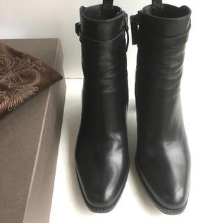 サルトル(SARTORE)の37.5  SARTORE ショートブーツ 黒 サルトル(ブーツ)