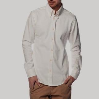 ジュンハシモト(junhashimoto)の数回着用19440円 ジュンハシモト JHS BDドレスシャツ AKMwjk(シャツ)