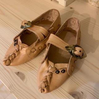 本革 革靴 ミニチュア(ファブリック)