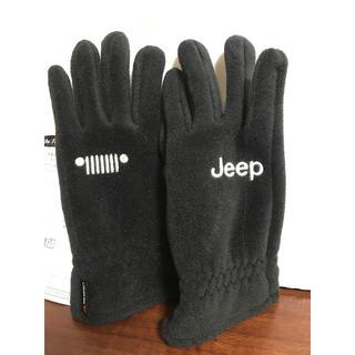 ジープ(Jeep)のjeep ジープ 手袋 グローブ 黒(手袋)