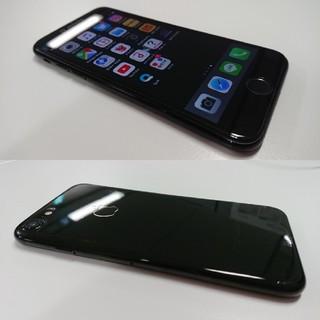 アイフォーン(iPhone)のdocomo iphone7 ピアノブラック 128GB simフリー(スマートフォン本体)