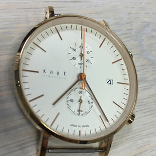 ノット(KNOT)のknot 腕時計 CC 39 ユニセックス(腕時計(アナログ))