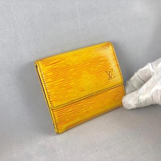 ルイヴィトン(LOUIS VUITTON)の【大人気】 LOUIS VUITTON 折財布 エピ かわいい(財布)