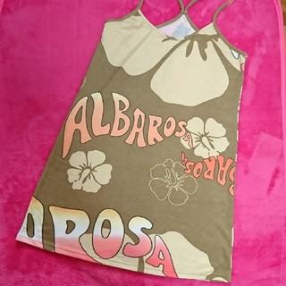 アルバローザ(ALBA ROSA)のALBAROSA●柔らかワンピース●フリー(ミニワンピース)