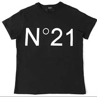 ヌメロヴェントゥーノ(N°21)のヌメロヴェントゥーノ ロゴTシャツ 正規品(Tシャツ/カットソー(半袖/袖なし))