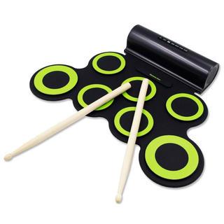 電子ドラム ポータブル ドラム 練習用パッド スピーカー内蔵(電子ドラム)