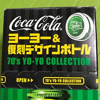 コカコーラ(コカ・コーラ)のスプライト復刻ボトル&ヨーヨー  未開封(ヨーヨー)