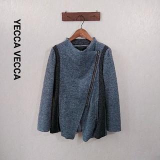 イェッカヴェッカ(YECCA VECCA)のYECCA VECCA ロング ライダースジャケット(ライダースジャケット)