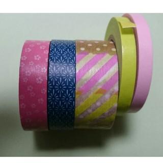 エムティー(mt)のmt マスキングテープ 5本セット 和柄 つぎはぎ(テープ/マスキングテープ)