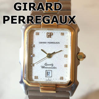 ジラールペルゴ(GIRARD-PERREGAUX)の【GIRARD PERREGAUX】48180 B0 クォーツ WH-1520(腕時計(アナログ))