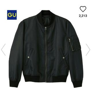 ジーユー(GU)の【 値下げ 】GU 中綿MA_1(ブルゾン)