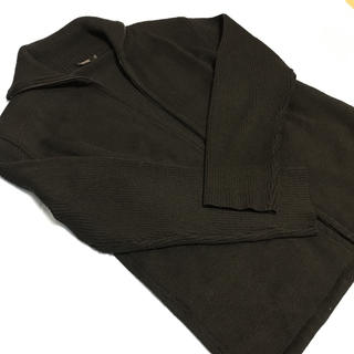 バーバリーブラックレーベル(BURBERRY BLACK LABEL)のバーバリーブラックレーベル ニットジャケット 美品 サイズ2早い者勝ち(ニット/セーター)