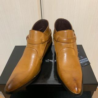 テットオム(TETE HOMME)のBlack on TETE HOMME 新品 未使用品 25.0cm(ブーツ)