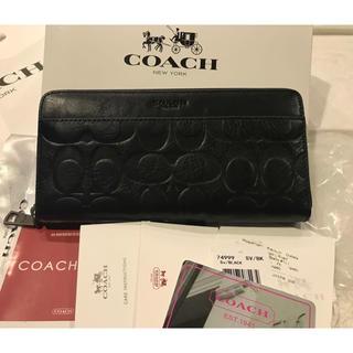 コーチ(COACH)の安心の国内発送❣️COACH コーチ 長財布 送料無料 ✨即購入◎(財布)