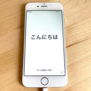 アイフォーン(iPhone)のApple  iPhone6 au 64GB シルバー  simなし(スマートフォン本体)