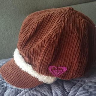 ロキシー(Roxy)のロキシー コーデュロイキャスケット帽子(キャスケット)