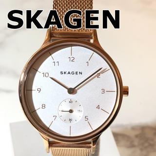 スカーゲン(SKAGEN)の【SKAGEN】ANITA クォーツ腕時計 WH-1788(腕時計)
