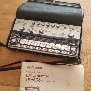 ローランド(Roland)の【動作チェック済】Roland TR-606 Drumatix(音源モジュール)
