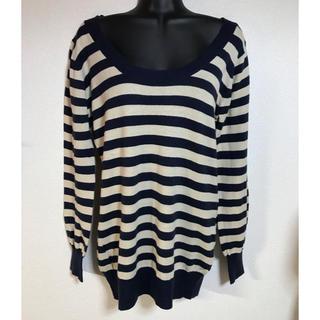 イオリ(IORI)のqba 薄手セーター 綿100% Mサイズ(ニット/セーター)