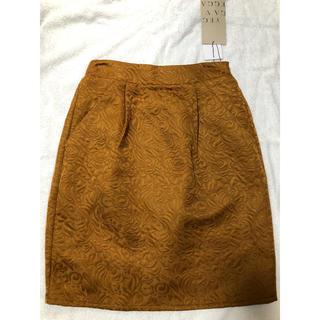 イェッカヴェッカ(YECCA VECCA)の新品 イェッカヴェッカ スカート キャメル(ひざ丈スカート)