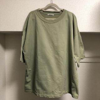 エディフィス(EDIFICE)のAURALEE×EDIFICE スーパーハイゲージスウェットビッグTee(Tシャツ/カットソー(半袖/袖なし))