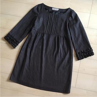 クチュールブローチ(Couture Brooch)のクチュールブローチ♡袖フリルチュニックワンピース(ミニワンピース)