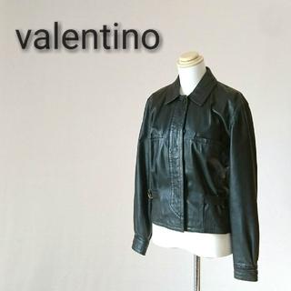 ヴァレンティノ(VALENTINO)のvalentino  pelle ヴァレンティノ レザージャケット(ライダースジャケット)