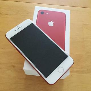 アイフォーン(iPhone)のiPhone7 128gb red(スマートフォン本体)